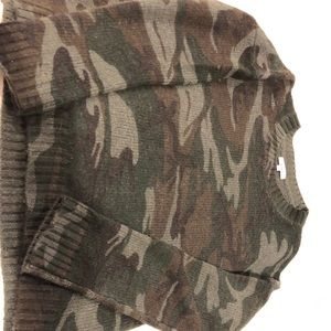 Rails Camouflage Sweater
